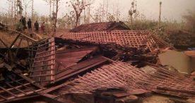 9 Rumah Milik Warga Desa di Ngawi Roboh Terkena Puting Beliung
