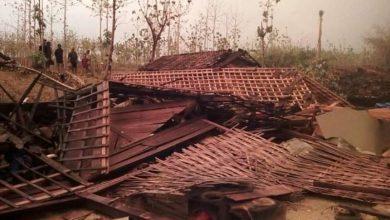 Photo of 9 Rumah Milik Warga Desa di Ngawi Roboh Terkena Puting Beliung