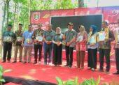 Bupati Ngawi Anugerahkan Berbagai Penghargaan dalam Awarding Ceremony 2019 di Wisata Kayangan