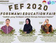Jadilah yang Terdepan untuk Menuju Kampus Impian dalam Forsmawi Education Fair 2020