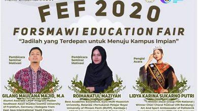 Photo of Jadilah yang Terdepan untuk Menuju Kampus Impian dalam Forsmawi Education Fair 2020