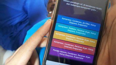 Photo of Siswa SMK PGRI 1 Ngawi Latihan Ujian Online Menggunakan Aplikasi Android