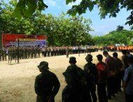 Pemda Ngawi Gelar Apel Bersama Gelar Pasukan dan Perlengkapan Penanggulangan Bencana Hydrometerologi