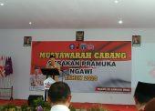 Kwartir Cabang Gerakan Pramuka Ngawi Menggelar Musyawarah Cabang 2020
