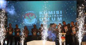 KPU Ngawi Gelar Launching Pemilihan Bupati dan Wakil Bupati 2020