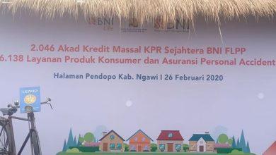 Photo of BNI Gelar Akad Kredit Massal KPR Sejahtera BNI FLPP 2020 di Pendopo Wedya Graha Ngawi