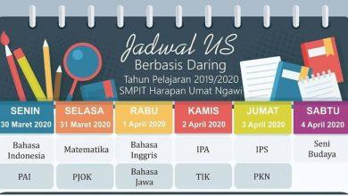 Photo of Ujian Sekolah Tatap Muka Ditiadakan, SMPIT Harum Ngawi Laksanakan Ujian Sekolah Berbasis Online
