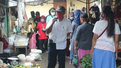 Photo of Lima Tim Pemda Ngawi Bergerak ke Pasar-Pasar Sosialisasikan Wajib Masker