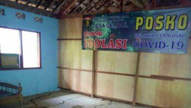 Photo of Desa Gembol Siapkan Ruang Isolasi Bagi Pemudik