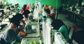 SMK Negeri 2 Ngawi Produksi Masker Kain untuk Dibagikan kepada yang Membutuhkan