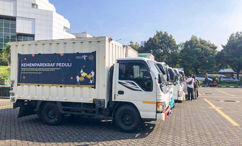 Photo of 597 Paket Sembako Bantuan Kemenparekraf Disalurkan kepada Pelaku Industri Pariwisata dan Ekonomi Kreatif di Ngawi