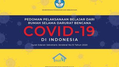 Photo of Pedoman Penyelenggaraan Belajar dari Rumah dari Kemendikbud