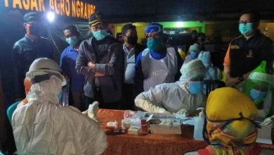Photo of Rapid Test Dilakukan Serentak di Pasar Paron, Ngrambe, Ngale, dan Samben 19 Mei 2020