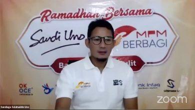 Photo of Sandiaga Uno Bagikan Tips kepada Pelaku UMKM Ngawi Hadapi COVID-19