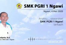 Photo of Pesan Kepala SMK PGRI 1 Ngawi atas Kelulusan Siswanya Ini Begitu Puitis dan Mendalam