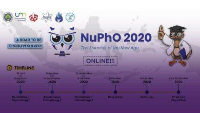 Photo of Ikuti NuPhO 2020, Kompetisi Fisika Berskala Nasional dari Himpunan Mahasiswa Jurusan Fisika Nucleon UM
