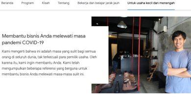 Photo of Google Siapkan Halaman Khusus bagi UMKM Lewati Masa Sulit Di Tengah Pandemi COVID-19
