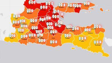 Photo of Update Jumlah Kasus COVID-19 Tiap Kabupaten/Kota di Provinsi Jawa Timur per 30 Juni 2020