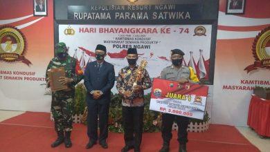 Photo of Desa Simo Raih Juara 1 Penilaian Kampung Tangguh Semeru di Kabupaten Ngawi