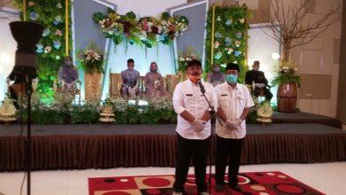 Photo of Simulasi Resepsi Pernikahan dalam Masa New Normal dari Sand WO Mendapat Apresiasi Pemkab Ngawi