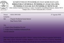 Photo of Pemerintah Bantu Kuota Internet, Dinas Pendidikan Diminta Melengkapi Nomor HP Peserta Didik pada Sistem Dapodik