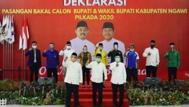 Photo of Ony-Antok Gelar Deklarasi Pasangan Bakal Calon Bupati dan Wakil Bupati Ngawi Pilkada 2020