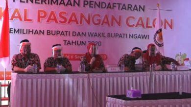 Photo of Hari Pertama Pendaftaran Bapaslon, Ketua KPU Ngawi Sampaikan 3 Magic Word Penyelenggaraan Tahapan Pilkada 2020